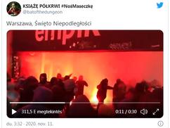 Varsóban provokáltak a Függetlenség menetén az Antifák, össze is verték őket a hazafiak – Videók