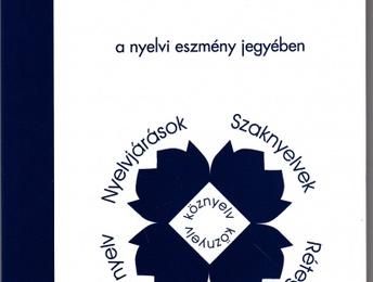 NYELVHELYESSÉGI KISOKOS – a nyelvi eszmény jegyében. (50) IRODALOM, függelék