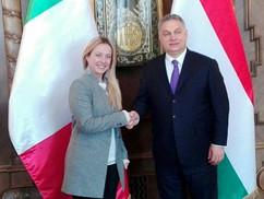 Giorgia Meloni kiakadt a magyar ellenzéken