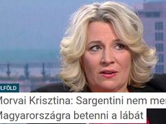 Morvai Krisztina: Sargentini nem meri Magyarországra betenni a lábát
