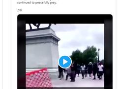A szélsőséges BLM-es tüntetőknek semmi sem szent + videó