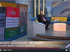 Gaudi-Nagy Tamás és a Nemzeti Jogvédelem a Hír TV Paletta c. műsorában