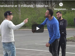 A kiábrándító valóság: egy migráns odasétált egy csoport tüntető dánhoz, és a szemükbe mondta a kese