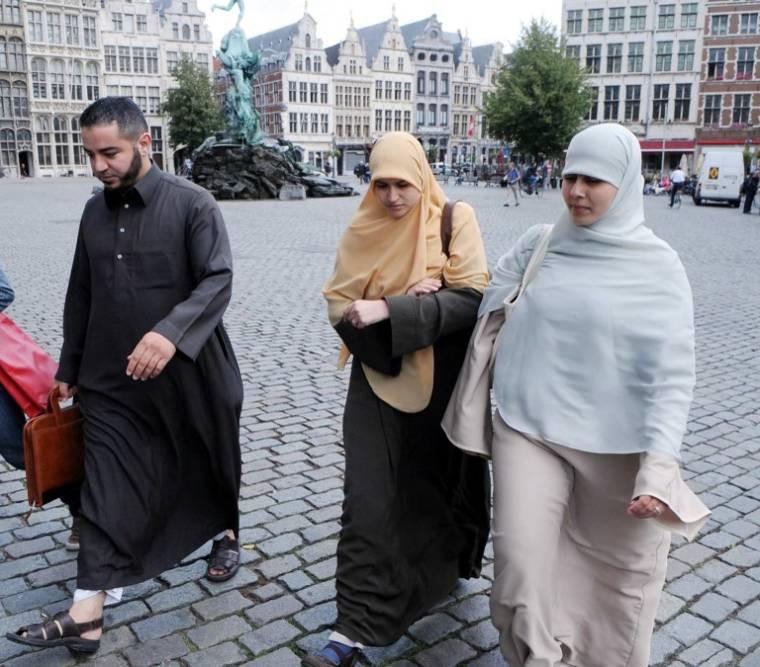 Muszlimok Antwerpenben