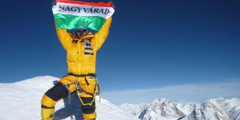 Varga Csaba hegymászó és építész