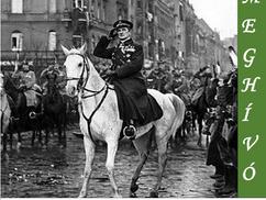 Megemlékező istentisztelet Horthy Miklós és a Nemzeti Hadsereg budapesti bevonulásának 100. évfordul