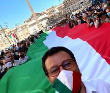 Salvini: Magyarország számunkra példakép