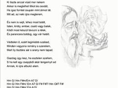 Keresztút, szonettkoszorú 6/14: Veronika megtörli Jézus arcát