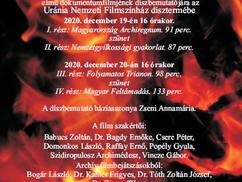 Meghívó Jelenczki István Trianon-filmjének bemutatójára