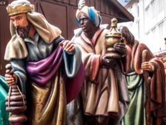 """Eltávolítják a """"szerecsen király"""" szobrát az ulmi evangélikus nagytemplom betleheméből"""