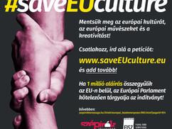 KAMPÁNYFELHÍVÁS a magyar kultúra alkotó és befogadó szereplőihez: saveEUculture. Petíció