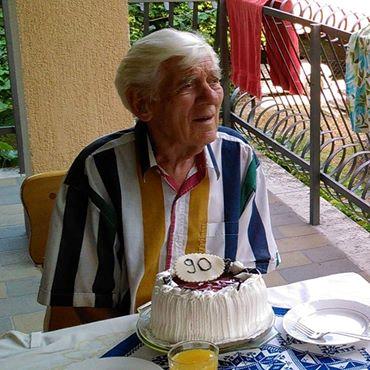 Tóbiás Áron 90 évesen