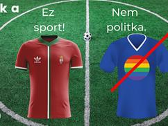 Üzenet a FIFÁ-nak: A foci sport, nem politika! Az LMBT-jelképek se legyenek kivételek