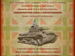 """""""Embermentők sorsa a diktatúrákban"""". Meghívó Koszorús Ferenc-konferenciára"""
