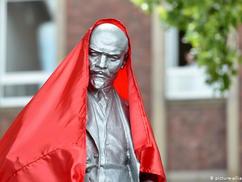 Ellentmondásos Lenin-szobor-avatás Gelsenkirchenben (+ film)