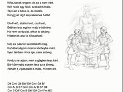 Keresztút, szonettkoszorú 10/14:  Jézust megfosztják köntösétől