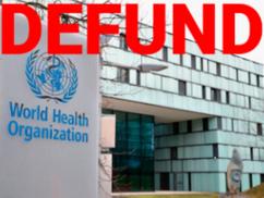Állítsák le a WHO finanszírozását!