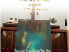 Kiss Viktor festőművész kiállítása az ARS SACRA fesztiválon!