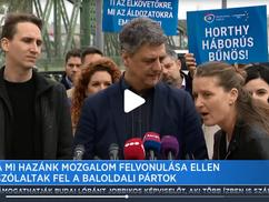 Budaházy Edda igaz beszólása a szivárványkoalíció sajtótájékoztatóján
