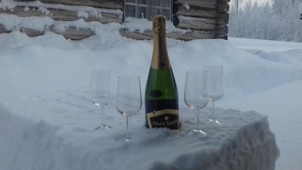 Husky's, sneeuw en alcohol...