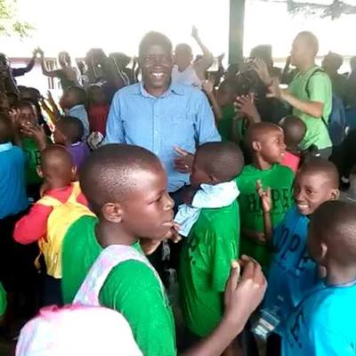 Doesn't this make you want to praise the Lord with dance and singing? Joshua, IKOOVA's social worker and our students who attend Musana are so full of joy!                                                   To partner with us, check out our website {l