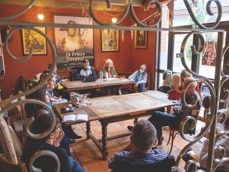 Retour en image de la réunion plénière à l'Utopia Tournefeuille, ce 10 juin.