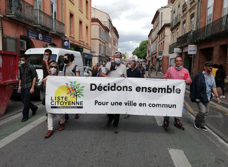 La LCT était présente à la manifestation du personnel soignant.