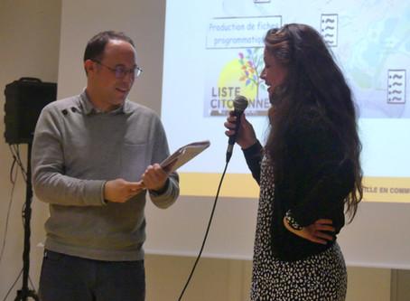 4ème et dernière réunion publique de la Liste Citoyenne le 11 mars