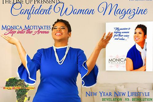 The Line Up Presents: Confident Woman Magazine