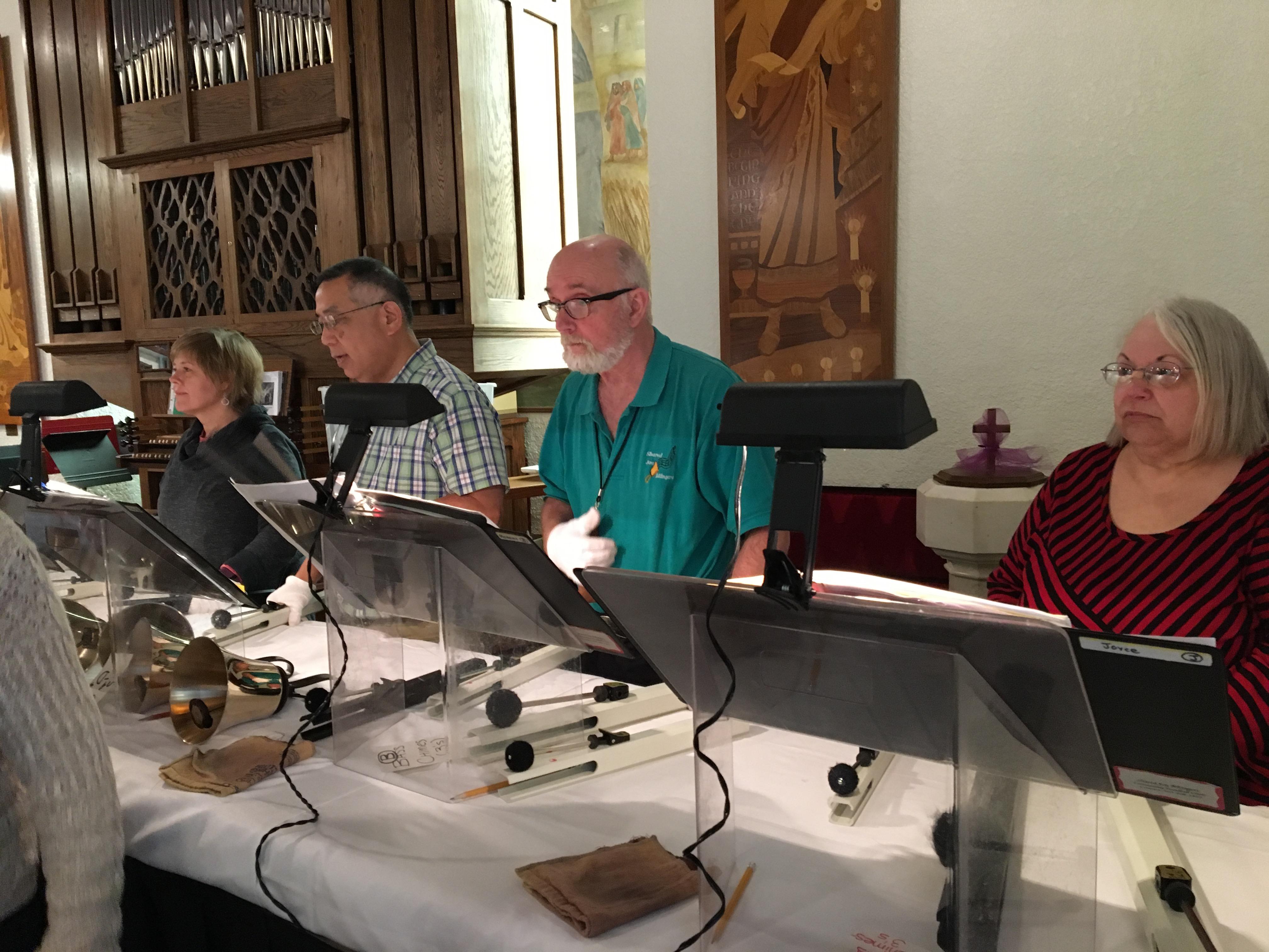 Rehearsal at St. John's