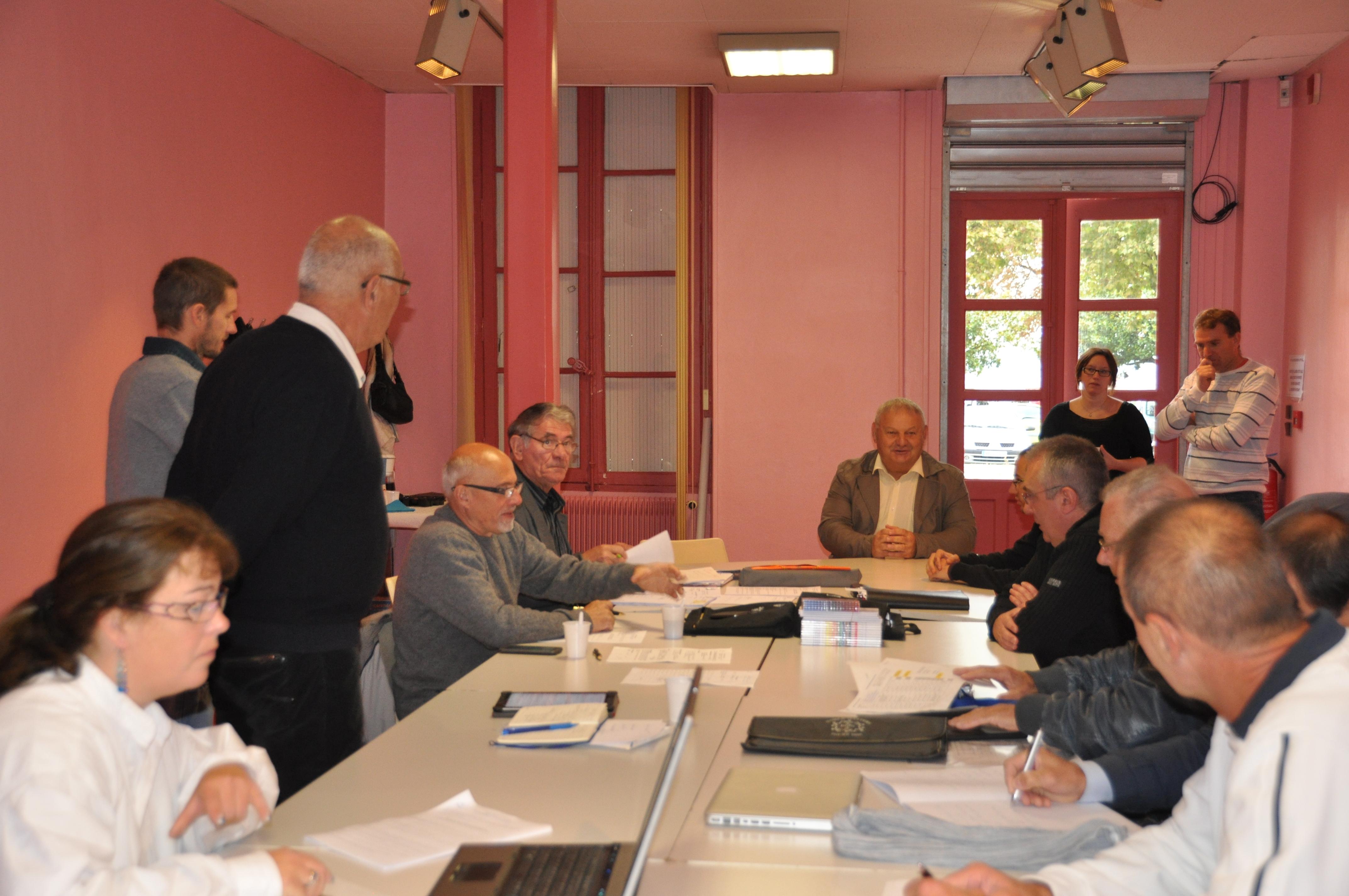 Comité directeur départemental