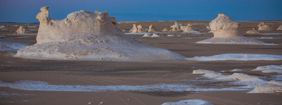 Дно древнего океана- белая пустыня