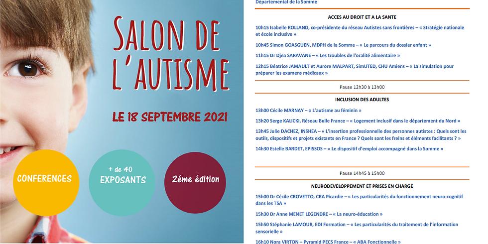 Salon de l'autisme à Amiens - 18 Septembre 2021