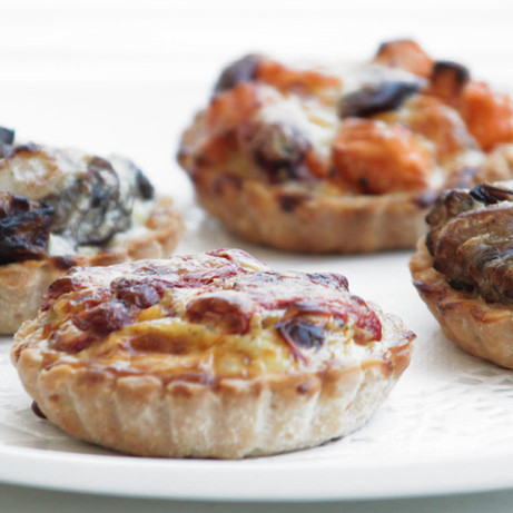 Savoury Tart Recipes by GREEN Plant-Based Foods
