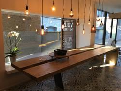 Table bois brut Oline