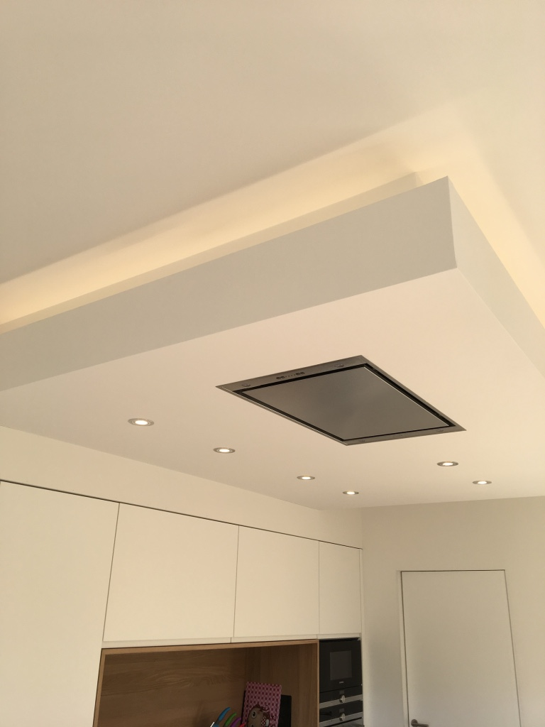 Faux plafond + Led