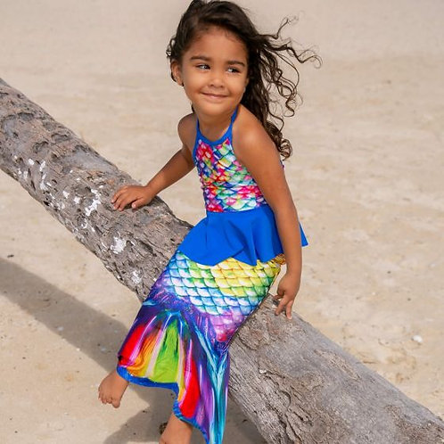Rainbow Reef Toddler Tail
