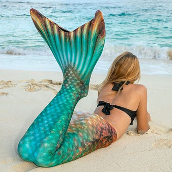 bronzed-emerald-green-gold-mermaid-tail-