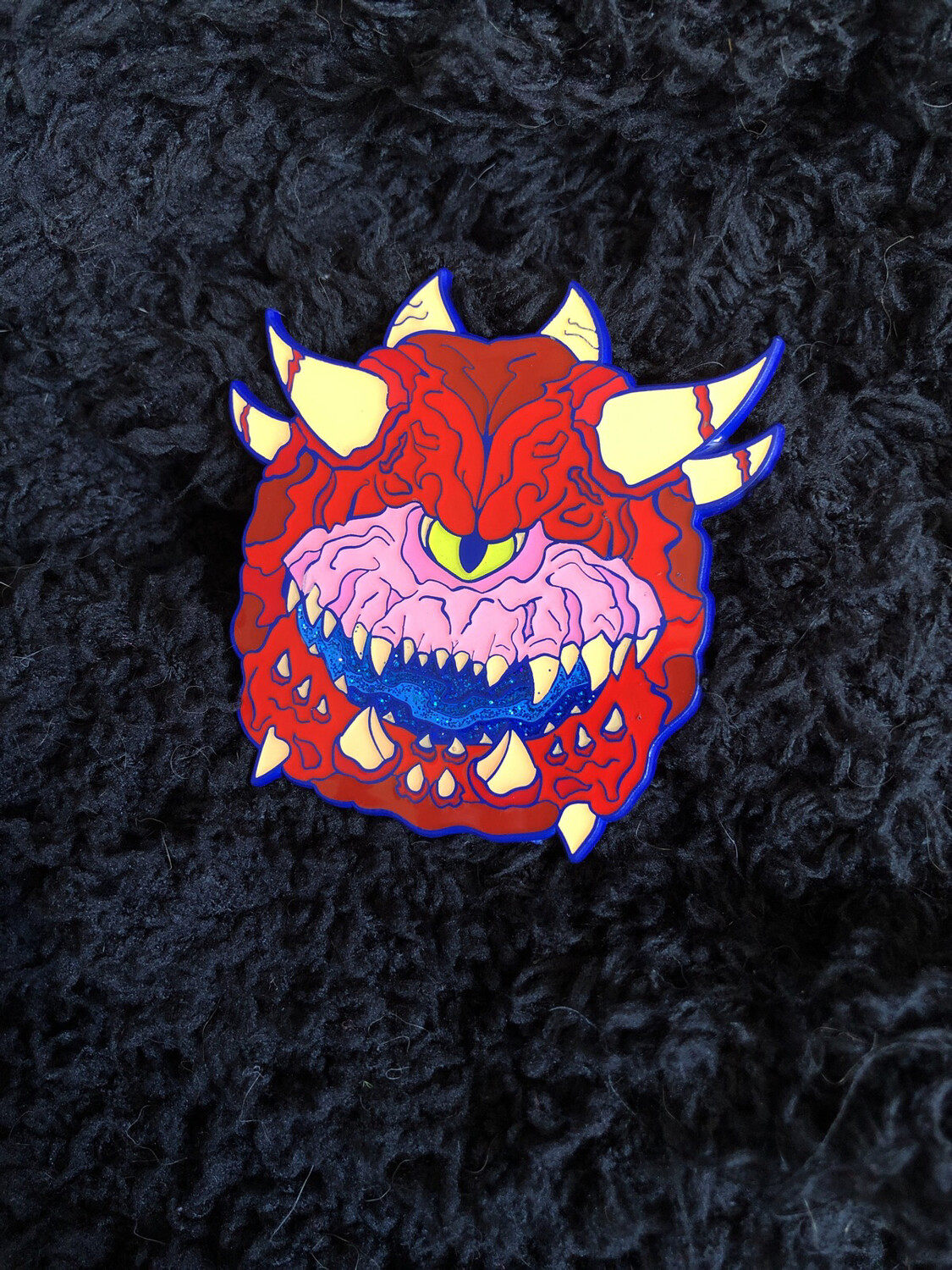 Cacodemon Doom Pin