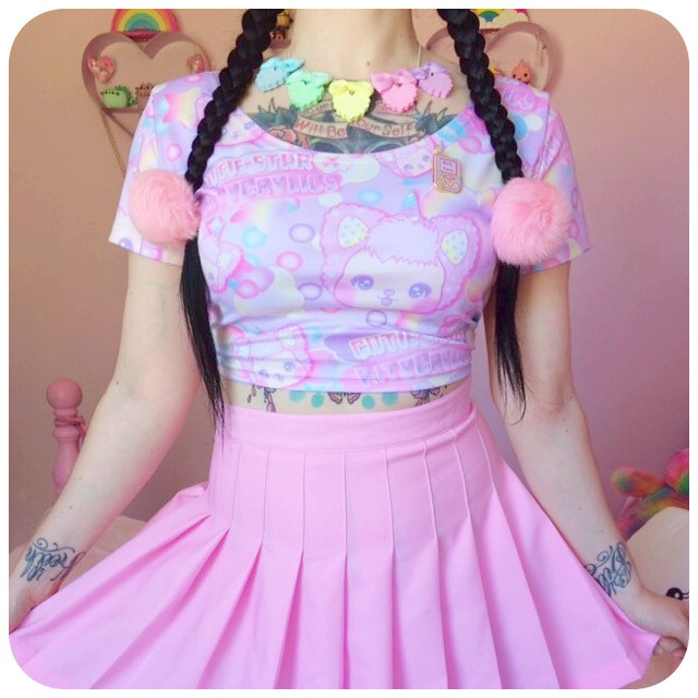 CutieStar crop top