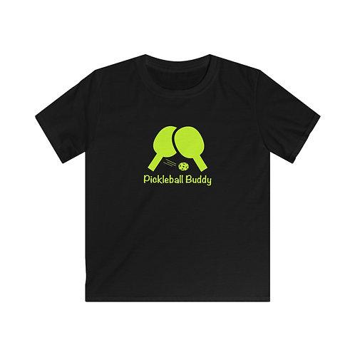 Pickleball Buddy - Kids Softstyle Tee
