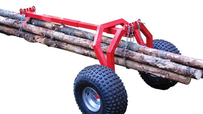 Transportadores para troncos (soporte trasero)
