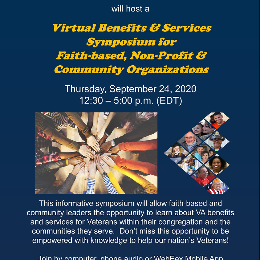 Veterans Benefits Administration will Host:  Virtual Benefits & Services Symposium