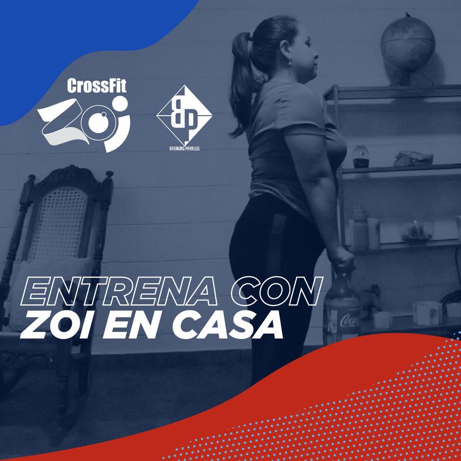 ZOI gym branding