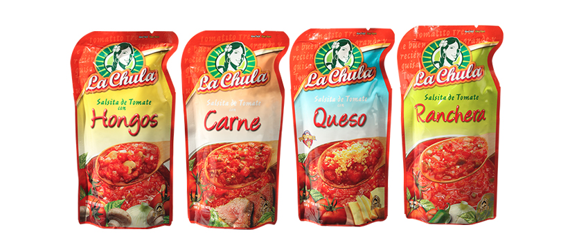 La Chula - Sauce Packaging