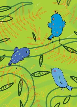 dancing blue birdsmala a4.jpg
