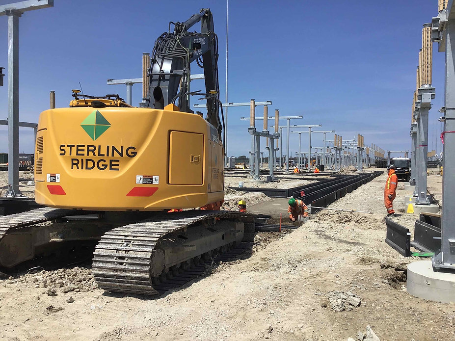 Lakeshore Switching Station Construction Site