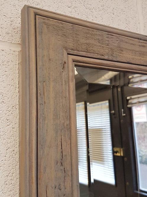 Handcrafted Mirror Gray Drift Wood Shabby Chic