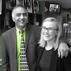Optom / Owner (Dal Biant) and Practice Manager (Charlotte Cairney)