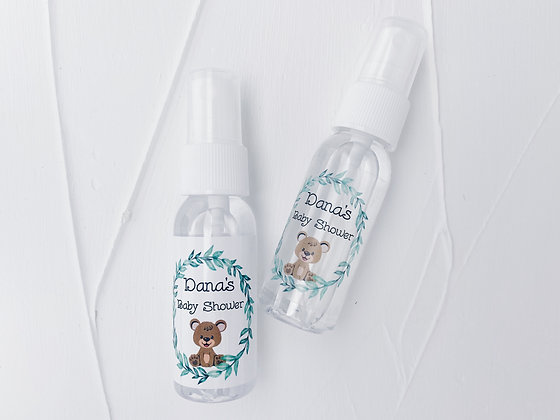 Baby Bear Baby Shower theme Hand Sanitizer